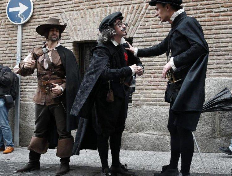 Ruta teatralizada por el Barrio de las Letras madrileño