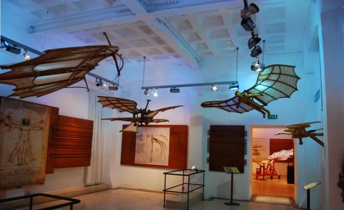 Exposicion Roma maquinas Leonardo da Vinci2