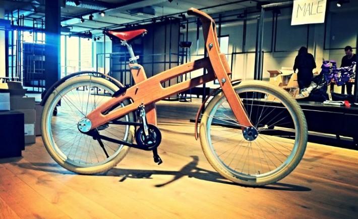 Bicicletas electricas madera