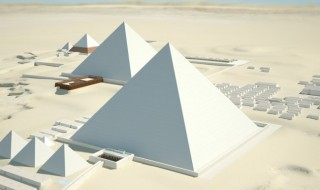 Giza 3D reconstruccion interactiva piramides