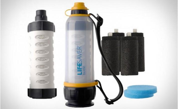 Lifesaver botella salvavidas esteriliza agua