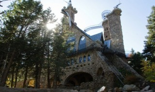 Bishop Castle iniciativa personal plasmada rareza arquitectonica