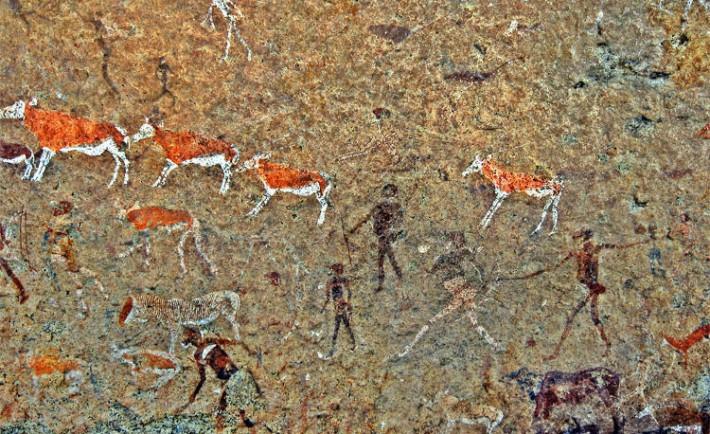 Dama Blanca pinturas rupestres Brandberg
