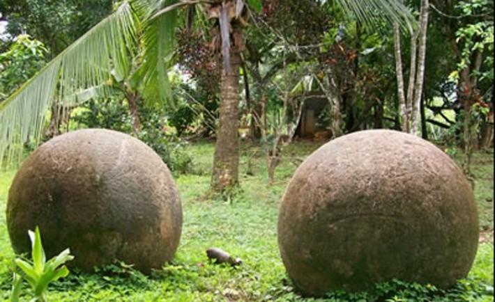 Misteriosas esferas piedra Costa Rica
