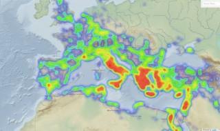 Pelagios herramienta descubrir geografia Antiguedad Medievo