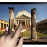 Pompei Touch aplicacion para ver in situ como era Pompeya
