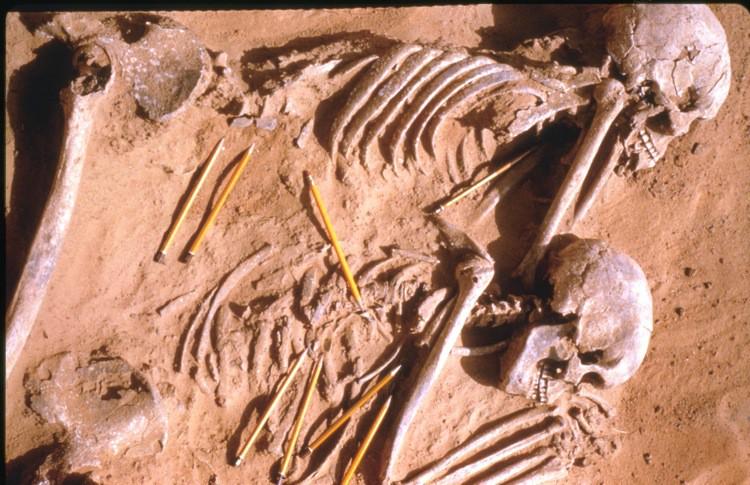 Los restos de la primera gran guerra, hace 13 mil años
