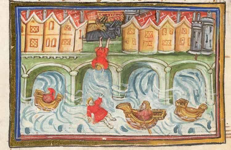 Las letrinas en la Edad Media