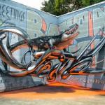 Increibles grafittis anamorficos Odeith