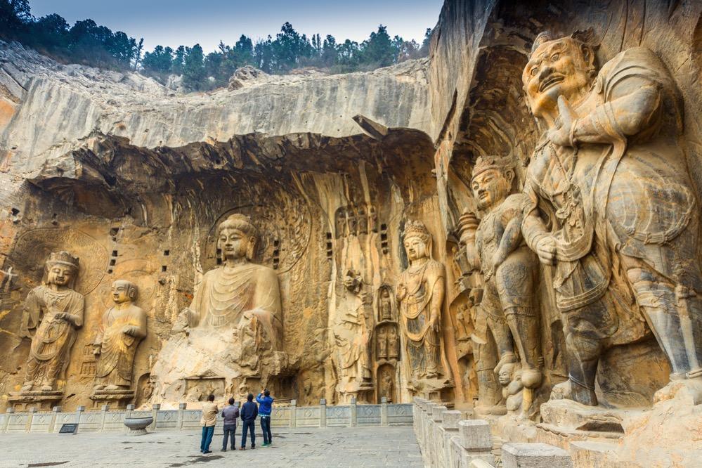 Las impresionantes grutas de Longmen en China