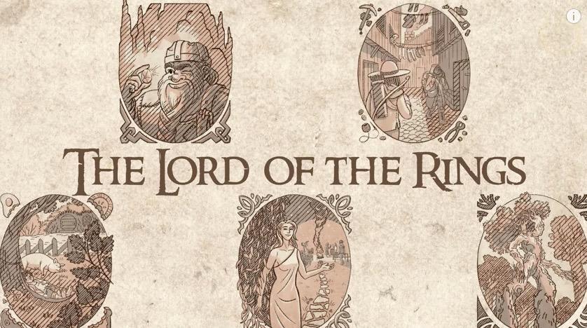 La mitología de El Señor de los Anillos explicada en cinco minutos