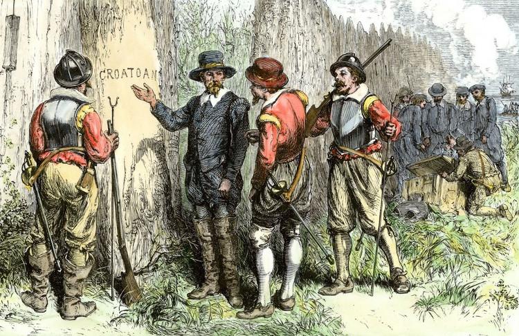 En busca de la colonia perdida de Roanoke