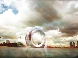 The Dutch Windwheel, el edificio más futurista de Róterdam