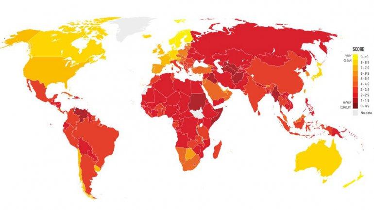 Los países más corruptos del mundo