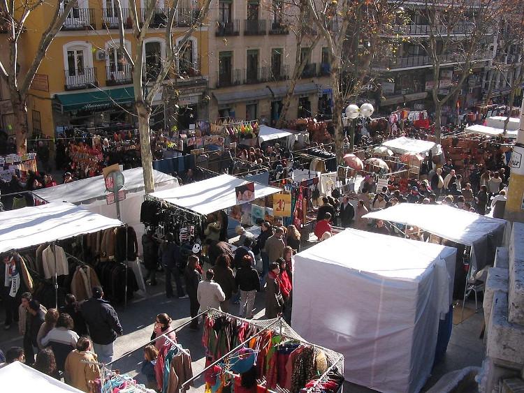 Una mañana en el Rastro madrileño