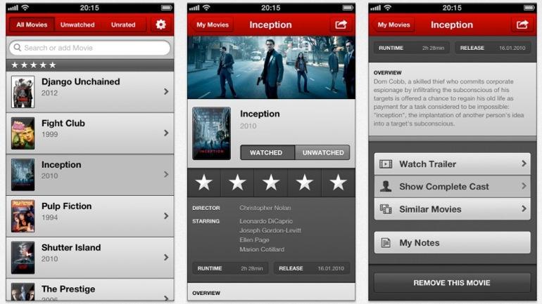 4 aplicaciones para descubrir películas