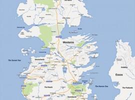 Juego de Tronos en Google Maps