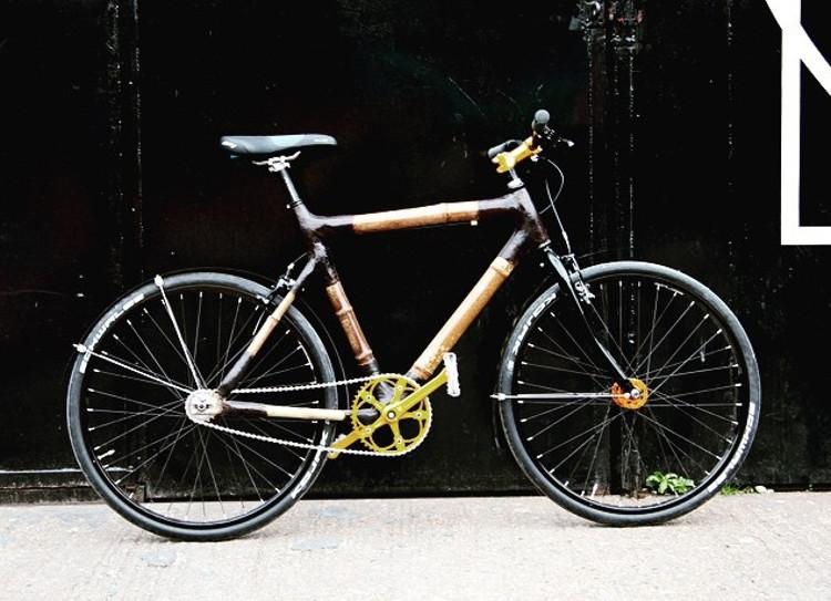Monta tu propia bicicleta de bambú recibiendo las piezas por correo