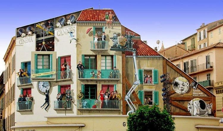 Patrick Commecy, el artista que da vida a las fachadas francesas