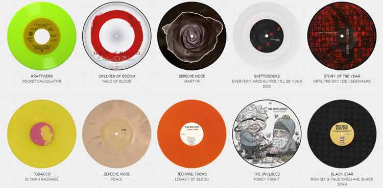 Colored Vinyl Records: el archivo mundial de los vinilos de color