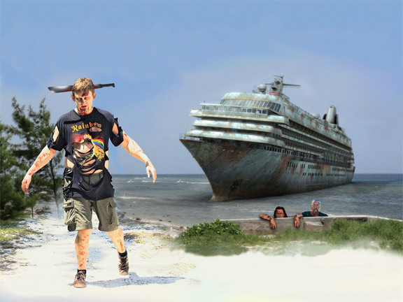 Un crucero zombi para septiembre
