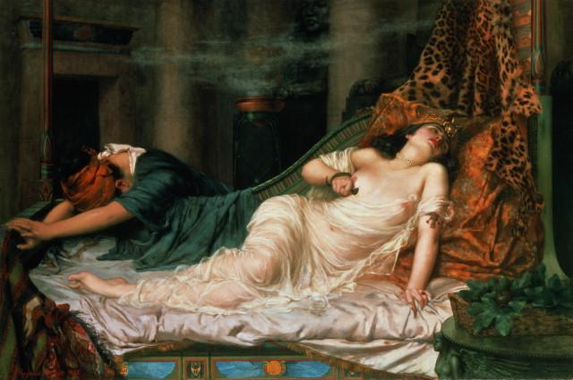 Nuevos argumentos en contra del mito de la muerte de Cleopatra