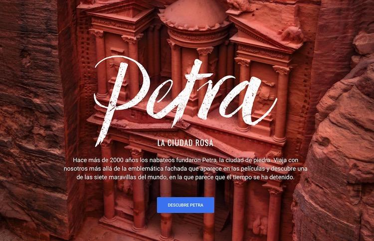Explora las ruinas de Petra con Google Street View