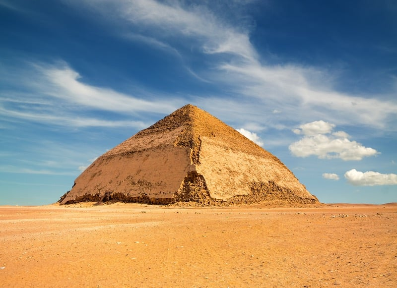 Analizan las partículas cósmicas en el interior de la pirámide de Bent