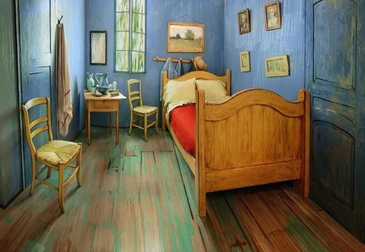 """Recrean el """"Dormitorio de Arlés"""" de Van Gogh como alojamiento"""
