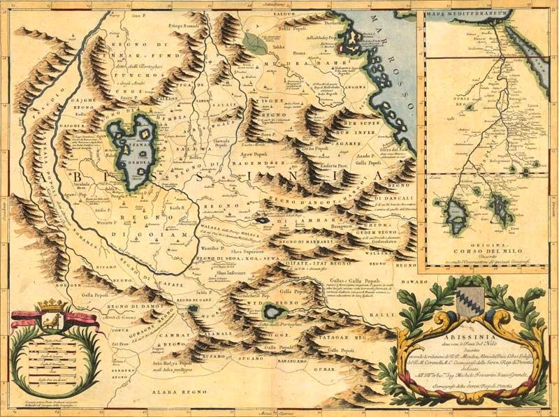 """""""Historia de Etiopía"""", el libro del descubridor español de las fuentes del Nilo Azul que tardó 4 siglos en publicarse"""