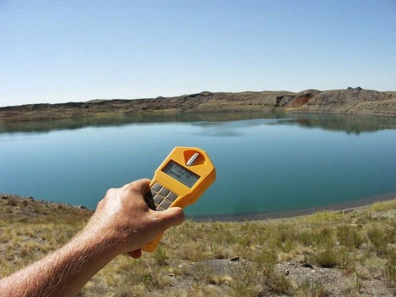 El lago de Kazajistán creado por una explosión nuclear