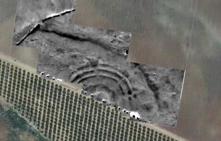 Una estructura de anillos concéntricos de hace 4.600 años en Sevilla