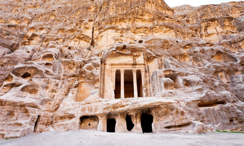 La otra Petra, situada a pocos kilómetros al norte de la célebre ciudad nabatea