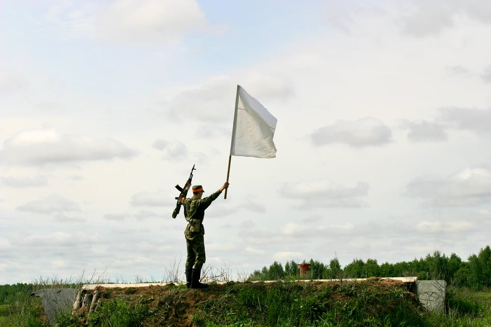 Bandera blanca