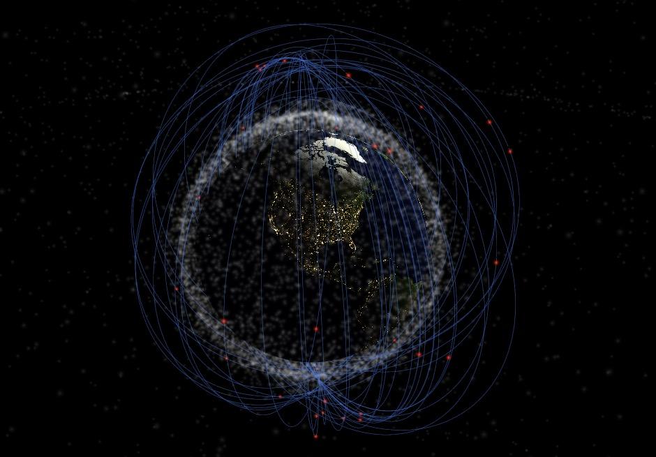 Los Estados Unidos crearon un anillo artificial de agujas de hilo de cobre alrededor de la Tierra en 1963