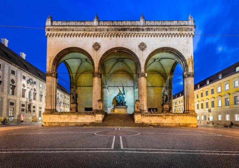 La Feldherrnhalle de Múnich, el altar sagrado de los nazis