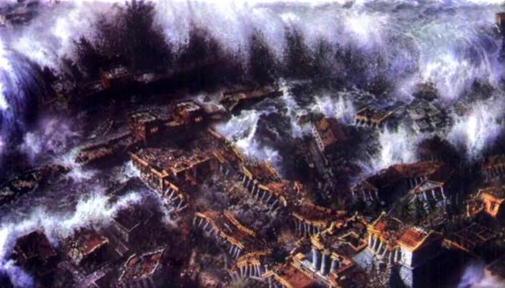 El terremoto más fuerte conocido en el Mediterráneo ocurrió en Creta en el año 365 d.C.