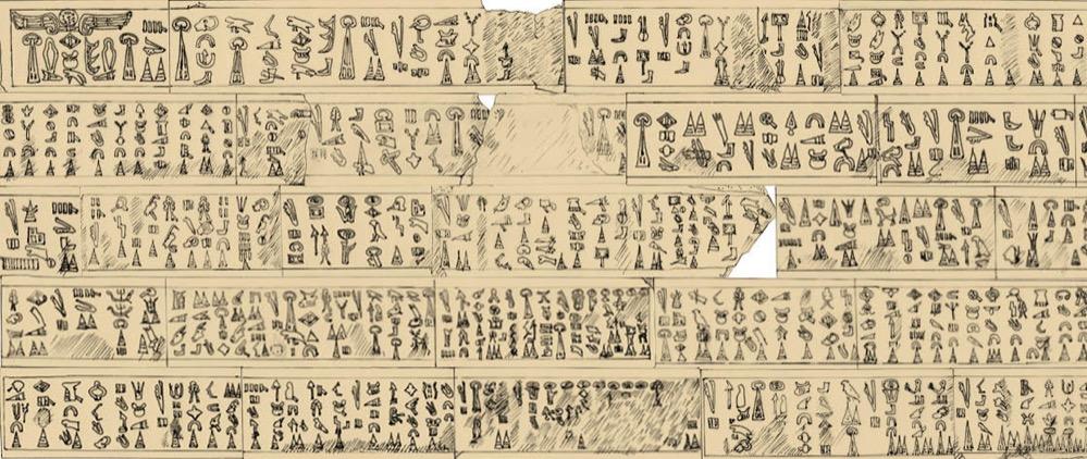 Descifran una inscripción jeroglífica que explica los acontecimientos del final de la Edad del Bronce en el Mediterráneo Oriental