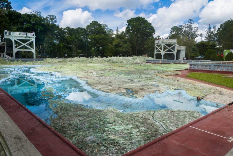 El mayor mapa en relieve del mundo está en Guatemala