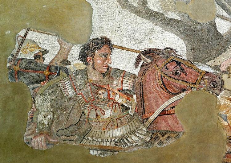 Cuando Alejandro conquistó Pelión haciendo que sus falanges simularan unos ejercicios militares