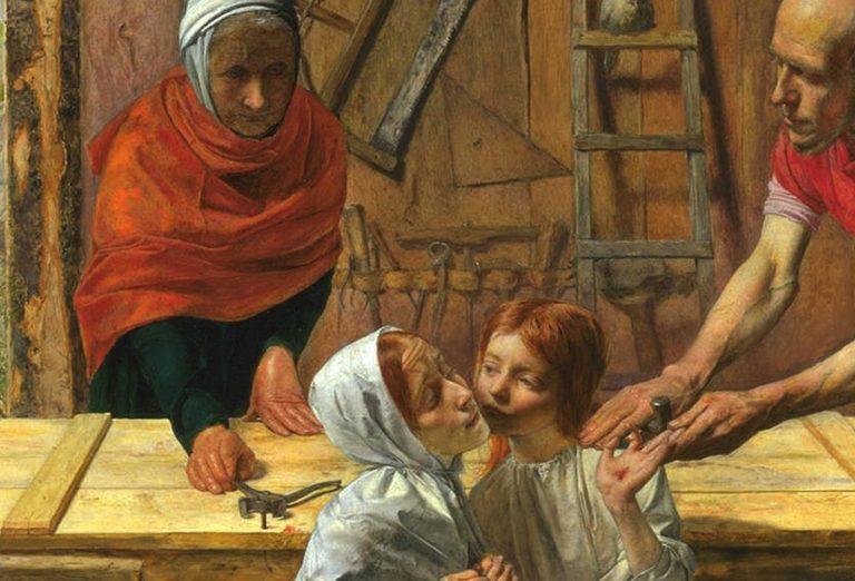 El controvertido cuadro, considerado blasfemo por su realismo, que dio inicio al movimiento prerrafaelita