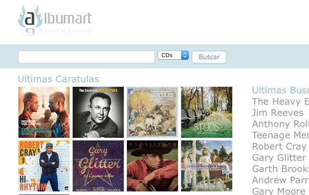 Albumart.org busca todas las carátulas para tus cd's