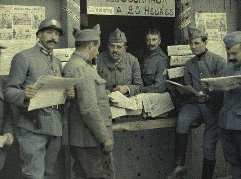 La Primera Guerra Mundial en color