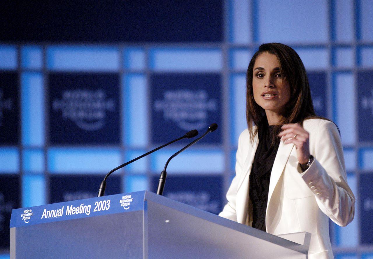 La reina Rania de Jordania tiene canal en YouTube