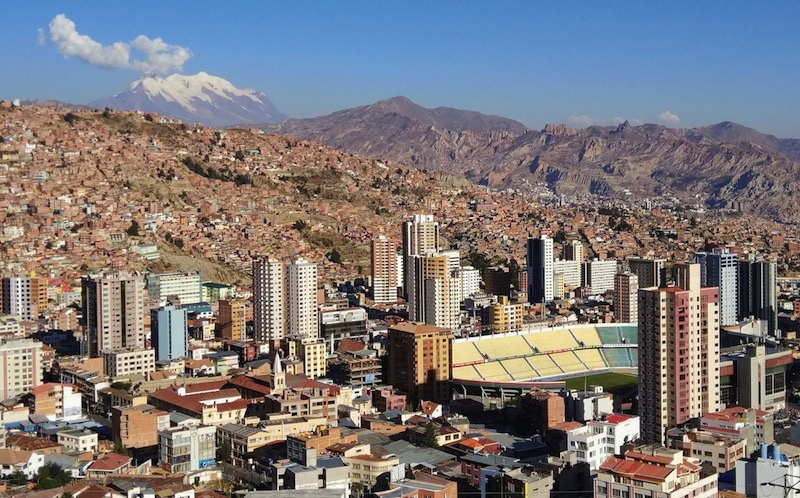 La Paz, la (no) capital a mayor altitud del mundo
