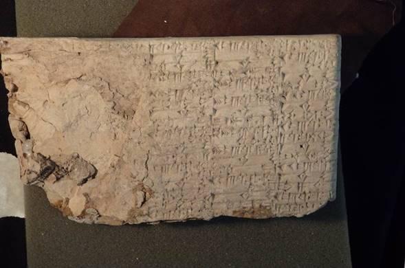 Tablillas cuneiformes de 4.000 años de antigüedad, incautadas por el gobierno de Estados Unidos, proceden de una ciudad todavía no encontrada