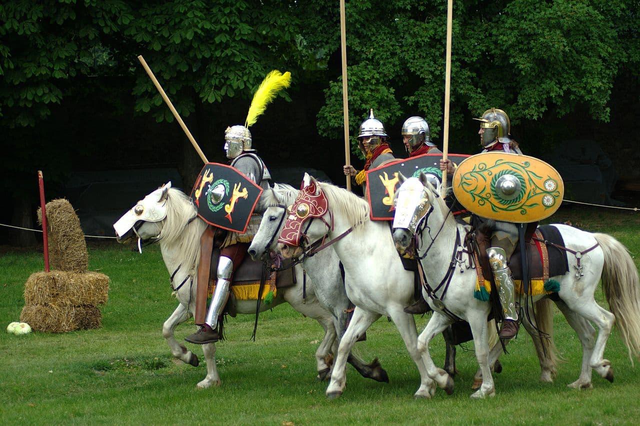 Hippika gymnasia, los torneos de caballería romanos